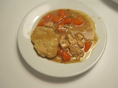 Chicken and dumpling stew
