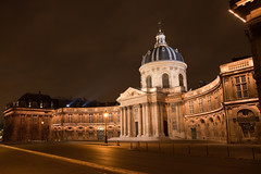 Institut de France - Paris, France (Thomas Leplus) Tags: world street city trip travel vacation urban panorama holiday paris france color colour building travelling art monument colors architecture night landscape geotagged photography photo holidays colorful europe colours photos geocoded famous colourful vacations canonef1740mmf4lusm institutdefrance geotagging acadmiefranaise geocoding camera:make=canon exif:make=canon exif:exposure_bias=0ev exif:focal_length=30mm exif:iso_speed=400 canoneos5dmarkii acadmiedesinscriptionsetbelleslettres acadmiedessciences acadmiedesbeauxarts acadmiedessciencesmoralesetpolitiques exif:aperture=f80 camera:model=canoneos5dmarkii exif:flash=offdidnotfire exif:lens=ef2470mmf28lusm exif:model=canoneos5dmarkii thomasleplus exif:exposure=1sec geo:longitude=2337233 geo:latitude=488577 camera:lens=ef2470mmf28lusm meta:exif=1267843643