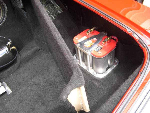 Trunk Battery Kit Team Camaro Tech