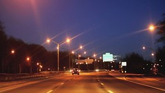 Nausea Inducing (Video) (Instant Vantage) Tags: nyc newyork ford night 50mm drive driving explorer sigma driveby slide 7d 50mmf14 clearview queensny niftyfifty canoneos7d generalfuzz
