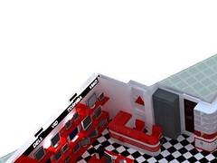 Thiết kế Showroom may tinh cty VID