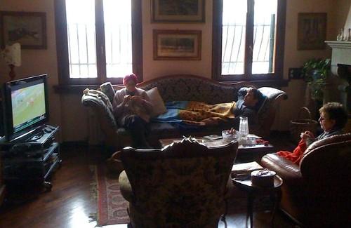Domenica pomeriggio a casa Benassi