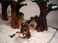 Band of Brothers: The Breaking Point (PhiMa') Tags: lego wwii ww2 worldwar2 battleofthebulge bastogne bandofbrothers brickarms mmcb