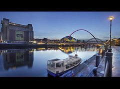 Baltic Flour Mills... (i.rashid007) Tags: uk evening baltic tynebridge milleniumbridge bluehour dri newcastleupontyne quayside tyneandwear norhteast