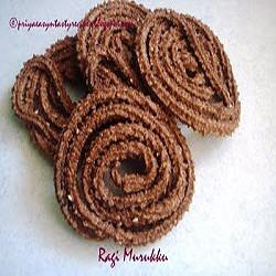 Priya's Ragi Murukku