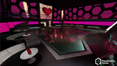 PlayStation Home Valentine's Singstar space