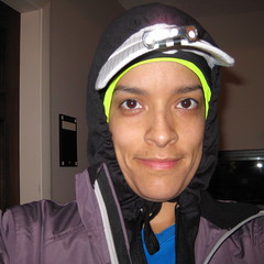 ready for a morning run in the cold