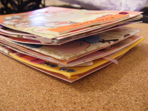 Postcard Pile -  photo by iHanna