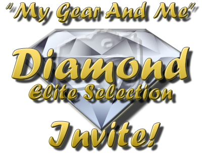 My Gear And Me - Diamond Selection Invite