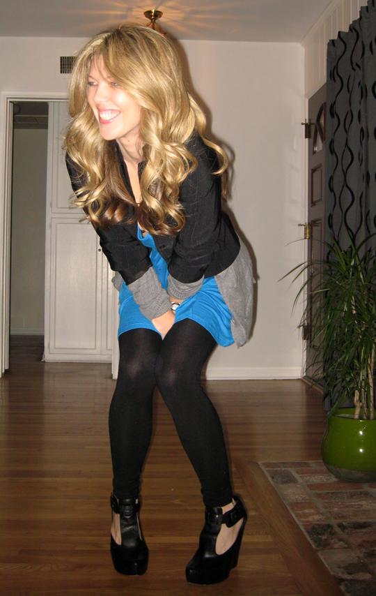 blue tunic black blazer-6