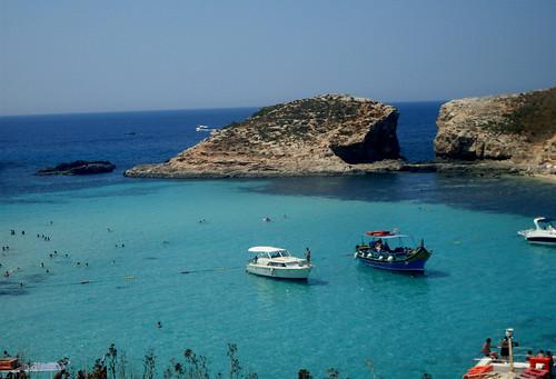 Blue Lagoon in Comino Island