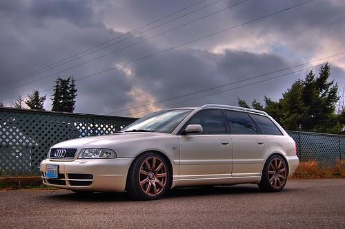 audi s4 avant b5. B5 Audi S4 Avant Pearl White