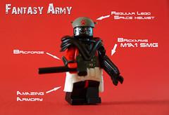 fantasy army - 3 (Shobrick) Tags: brick army amazing lego fantasy custom armory brickarms