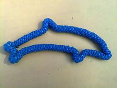 scoubidou_dauphin_by_timinou[1] (blue_peach) Tags: lanyard scoubidou plasticlace