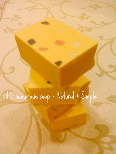 Olive Soap with Turmeric