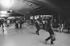 Bangkok International Suvarnabhumi Airport (mjlsha) Tags: bw film thailand airport iso400 bangkok international m42 manualfocus supertakumar scannedfilm manuallens spotmaticii scannednegatives suvarnabhumi asahipentaxspotmaticii ilfordsuperxp2 bangkokinternationalsuvarnabhumiairport supertakumar24mmf35 photoexpressglorietta