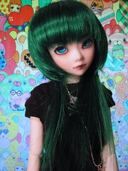 FS- green photosynthesis FMD wig (miss_skittlekitty) Tags: formydoll customwigs souldollkidliddell