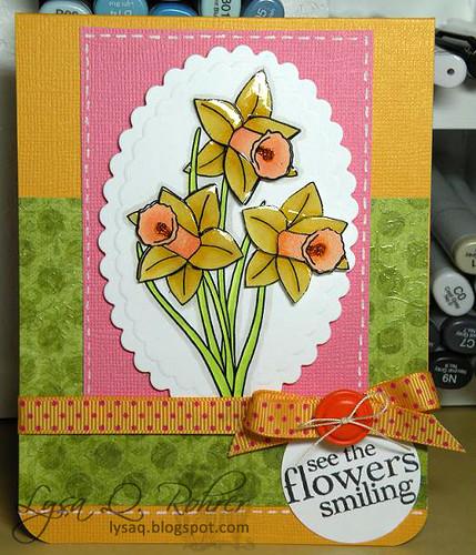 Smiling daffodils