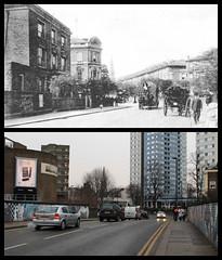 Abbey Road (Tetramesh) Tags: uk greatbritain england london unitedkingdom britain camden londres abbeyroad hampstead londra londen thenandnow londinium nowandthen lontoo llondon localhistory pastandpresent londyn llundain nw8 londn socialhistory oldlondon  presentandpast londonboroughofcamden lostlondon londona belsizeroad londain londono londonas tetramesh londonhistory londrez  loundres oldhampstead hampsteadpastandpresent hampsteadnowandthen hampsteadthenandnow londonpast uklocalhistory londonlocalhistory londr lndra hampsteadandkilburn londonpastandpresent londonnowandthen abbeyroadnt