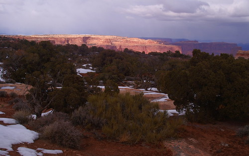 Late light in Canyonlands