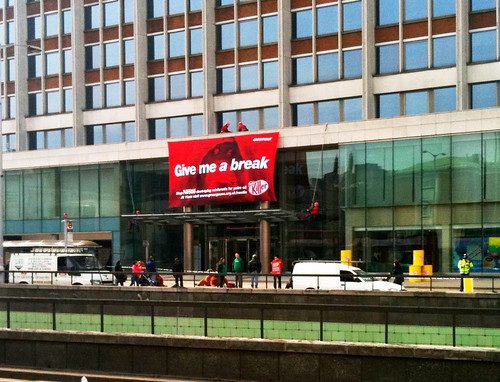 Greenpeace Visit Croydon