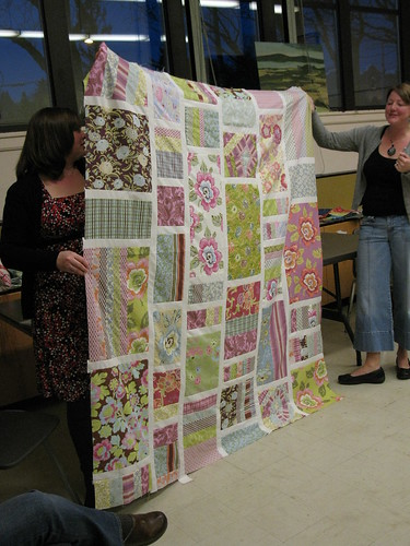Portland Modern Quilt Guild - 1st Meeting 017