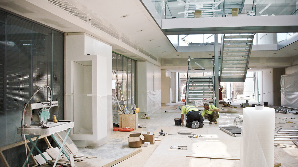 BAE fit out phase (ESA)