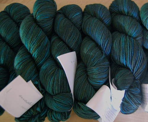 Madelinetosh Vintage in Turquoise