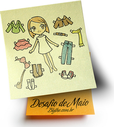 Desafio Versatilidade Maio/2010 Blythe.com.br