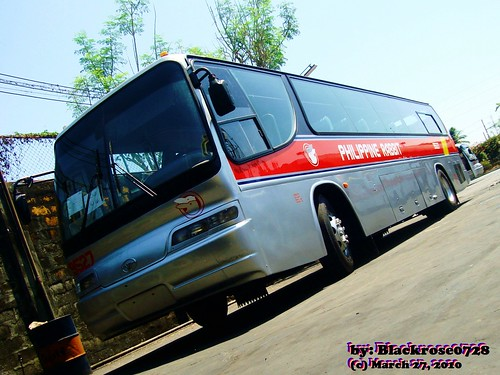 PHILIPPINE RABBIT Bus Lines, Inc. - Daewoo BH115E Royal Economy - 9527