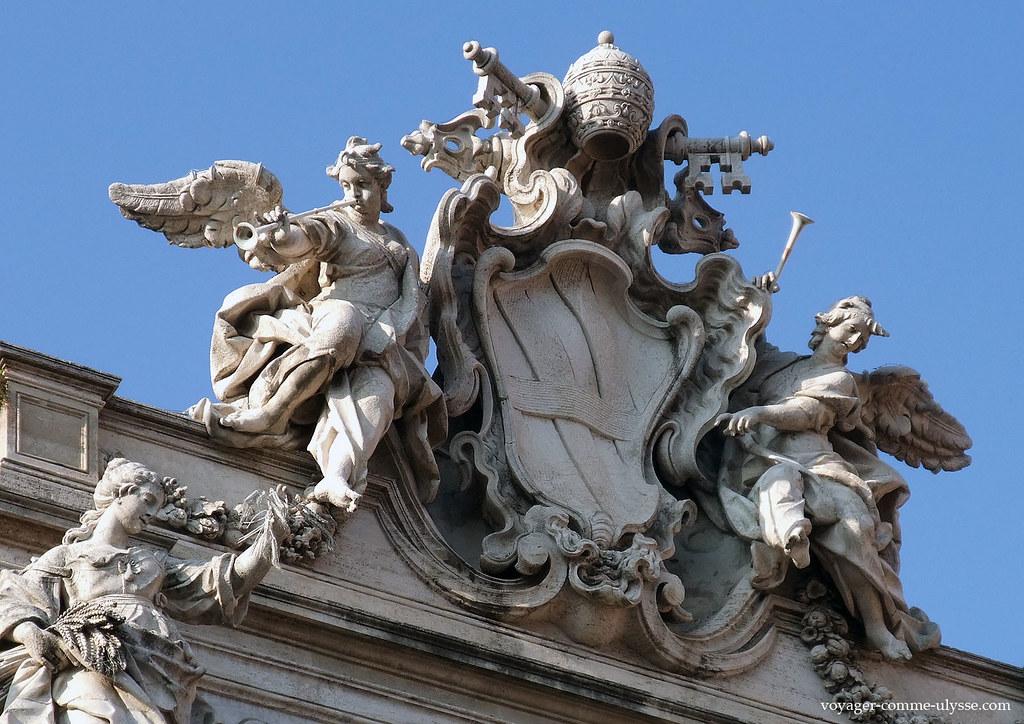Blason du pape Clément XII