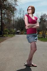 Amber on a Sunny Day (budrowilson) Tags: street sun canon 7d plm 1755 whitelightning cookevilletn strobist paulcbuff cybersyncs paraboliclightmodifier ultrazap1600