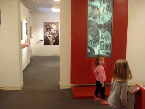 Hands-on exhibit: Escher Museum
