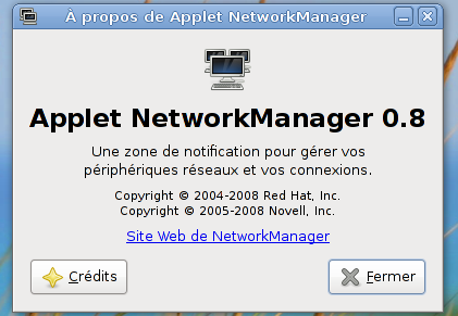 NetworkManager 0.8 en action