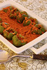 Thumbnail image for Capsicum (Bell Pepper) Curry With Tomato Peanut Masala