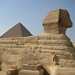 The Sphinx and the Great Pyramids - Giza