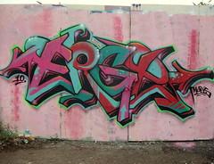 Long day. (Korps.) Tags: england wall graffiti boards montana 94 mtn spraypaint leamington piece colourfull erge