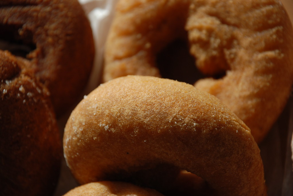 buttermilk doughnuts from Willow Bake Shoppe