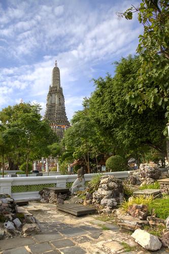 """Wat Aroon"" the Temple of Dawn, Bangkok, Thailand"