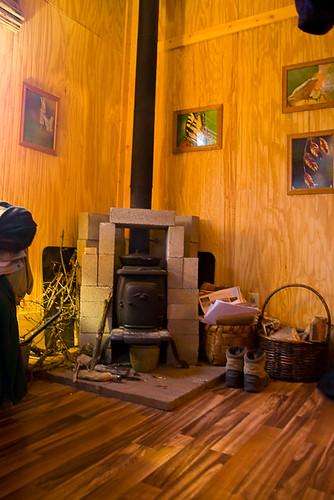 Wood Burning Stove Thermal Mass