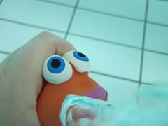 Little Fish #3 (Alison et Cedric) Tags: underwater powershot bubble bulle d10 waterquot quotunder