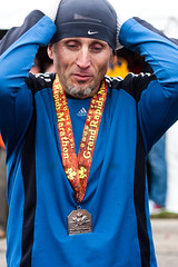 I Did It Well (~Molz~) Tags: proud community running pride rudy victory medal runners strength 262 grandrapidsmi madeit grandrapidsmarathon rudymalmquist grmarathon grmarathon2009 akamaskedman icanrunwithmyhatpulleddownovermyeyes