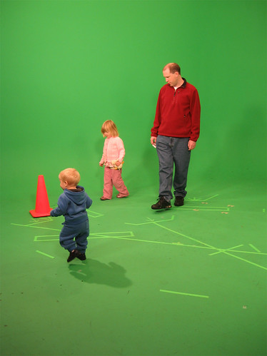 More green screen fun