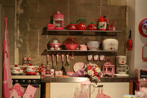 HK Historical Exhibit - Hello Kitty Three Apples Party
