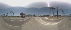 Street View time-lapse (Los Angeles) (swilsonmc) Tags: california panorama losangeles timelapse google 360 projection montage php api quicktime streetview imagemagick equirectangular