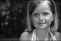 My other pretty niece ! (Paul - Somers) Tags: portraits children model kinderen zwart wit knap