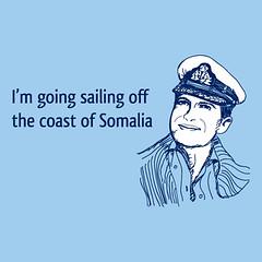 Sailing Off Somalia t-shirt (RizzoTees) Tags: sailing pirates piracy hijack cooltshirts hijacking funnytshirts funnytees rizzotees imgoingsailingoffthecoastofsomalia