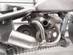 Motorcycle art Bike 100 Harley Davidson knucklehead (9)