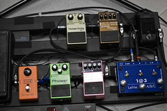 Pedal board (Jacob Johansson) Tags: rock metal effects guitar pedalboard pedal planetsalign