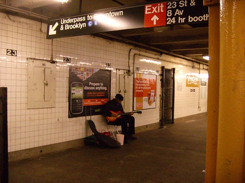 guitar player 23rd St_